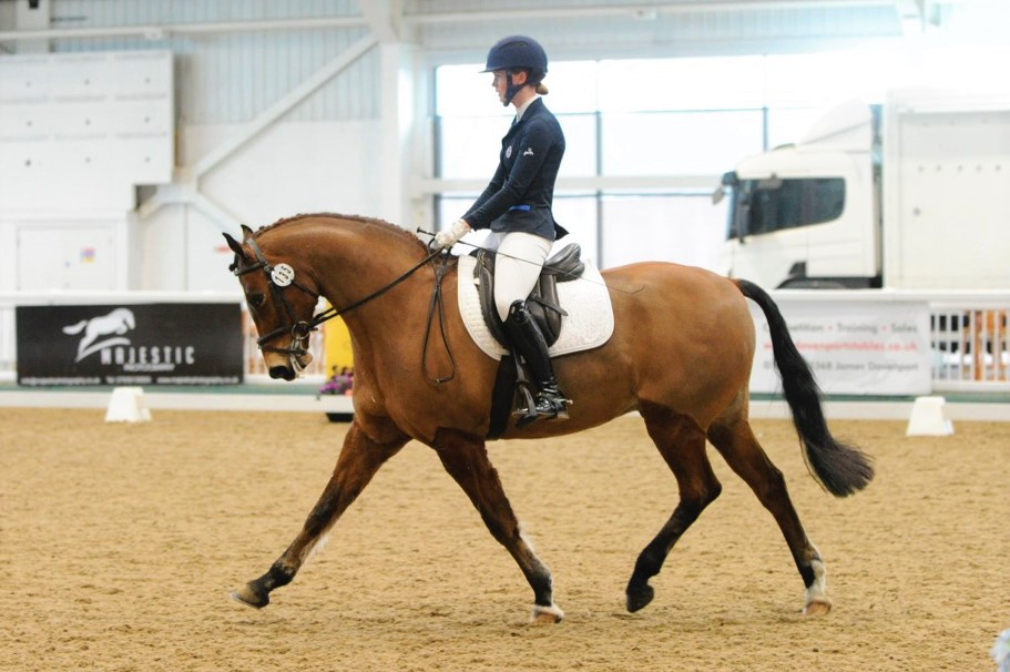 British Dressage Report Aintree International Equestrian